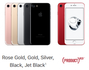 iPhone 7 colours-Xclues.com