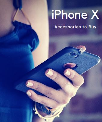 buy online 241af e9e16 6 Must-have iPhone X Accessories online in India at best price, EMI ...